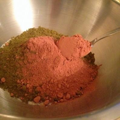 Hemp protein and Cocoa powder