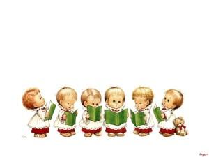 Caroling-Kids-singing-Christmas-download-free-xmas-wallpaper