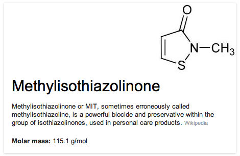 methylisothiazolinone