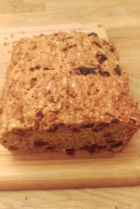 athlete fruit bread