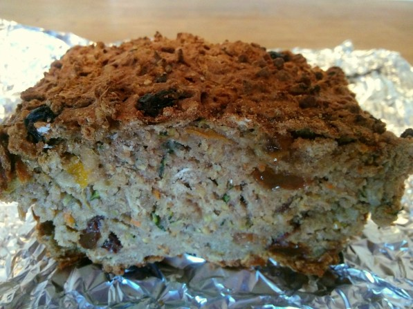 Fruity-veggie athlete bread 4