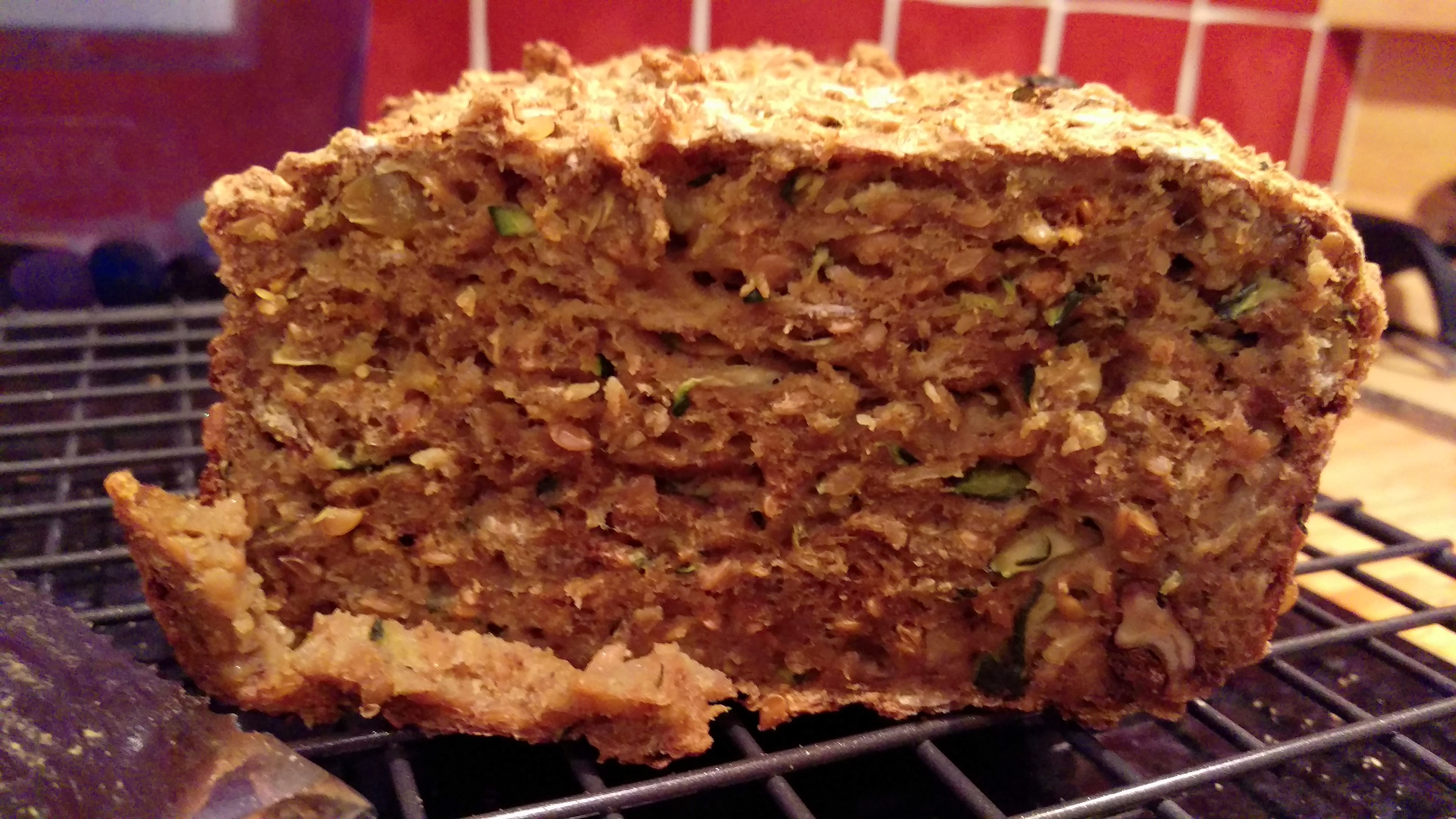 """""""Everything in there"""" Fruit, Nut and Spice Gluten Free Bread"""
