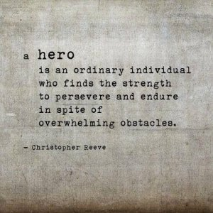 a hero is an ordinary individual