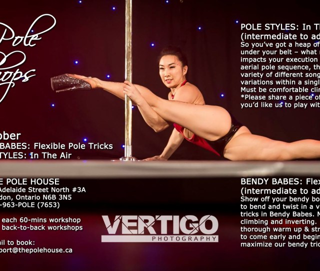 Pole Styles In The Air Intermediate To Advanced So Youve Got A Heap Of Awesome Pole Tricks Under Your Belt What Next Discover How Music Impacts Your