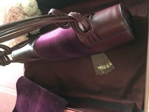Grand Attaché Bag 'Dahlia' by AJ