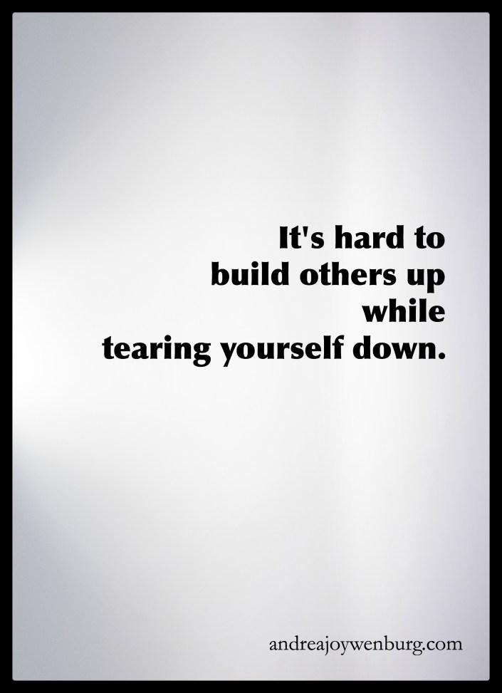 build up - tear down