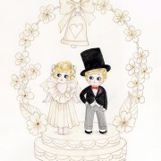 Cutesy Cake Topper