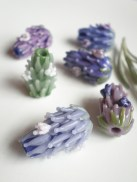 Blooming Lavender Beads