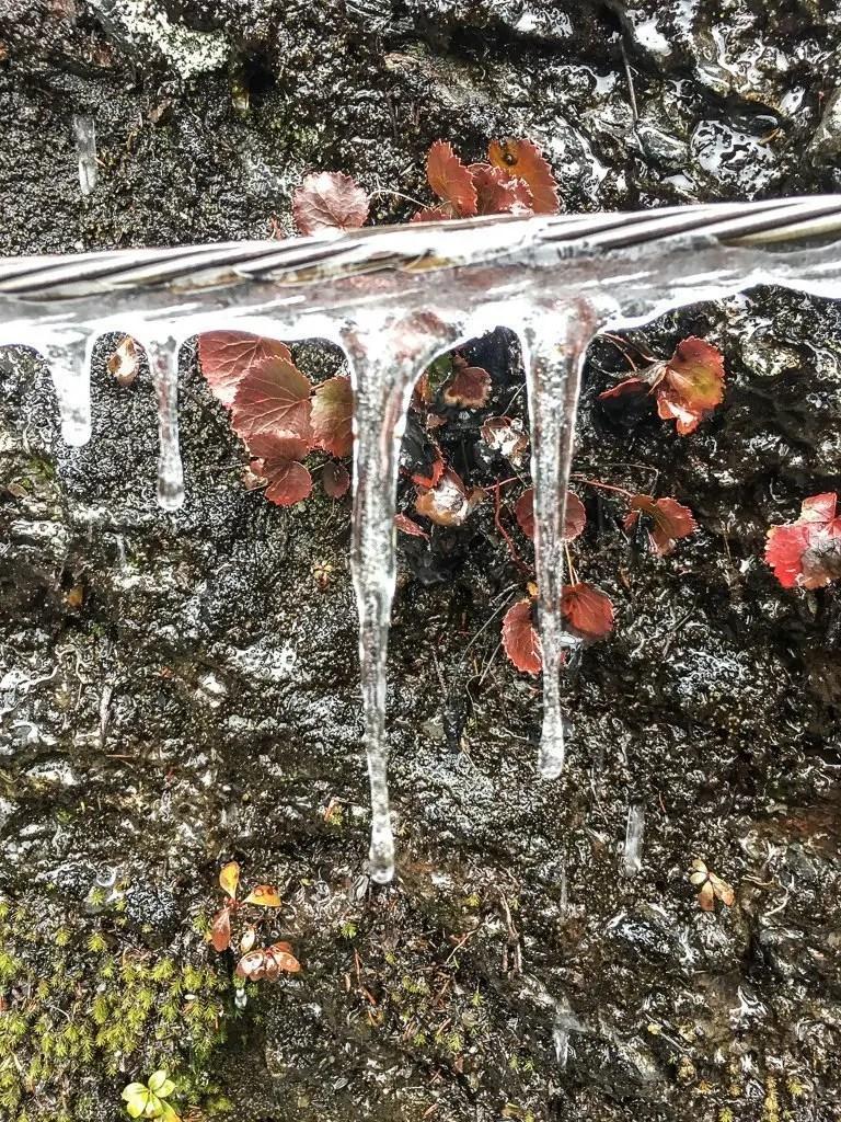 alum cave trail frozen cable