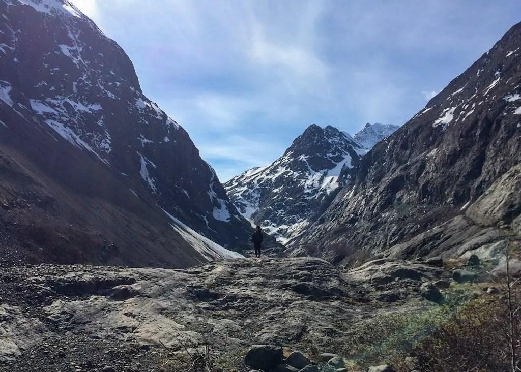 Eklunta Glacier Trail Alaska