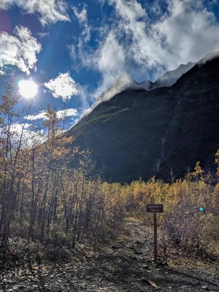 Serenity Falls Trail Alaska