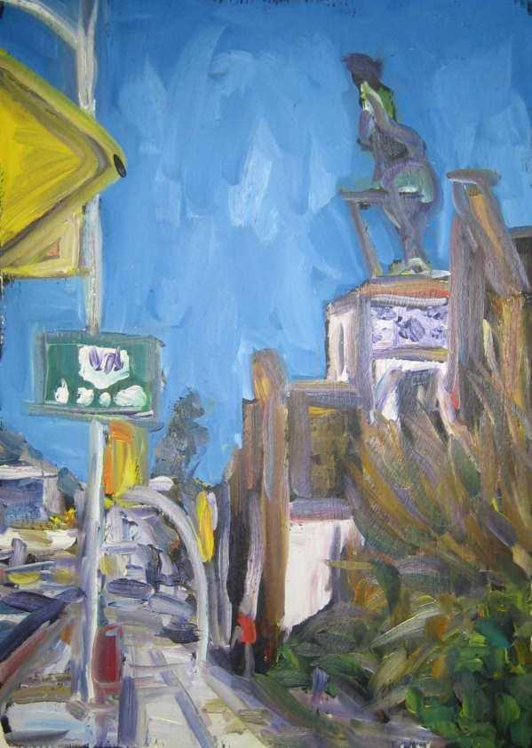 Kermie on La Brea by Andrea LaHue