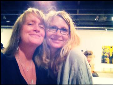 Karin and Andrea