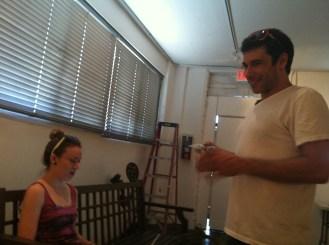 Emma and Jason at Gabba Galllery