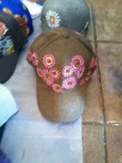 wshlish donation hat pink gold alahue