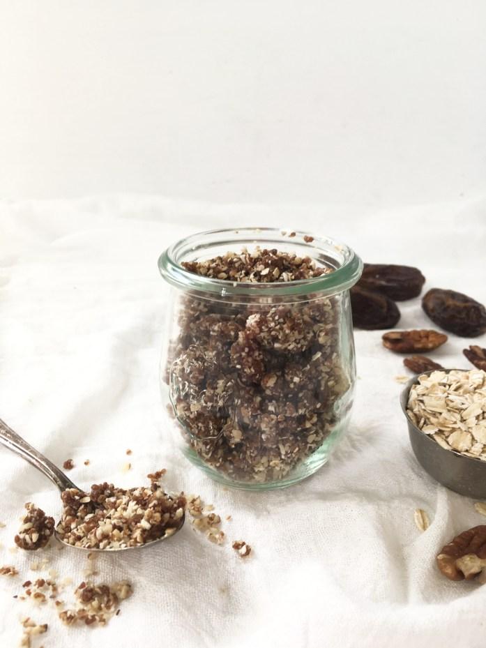 vegan raw granola