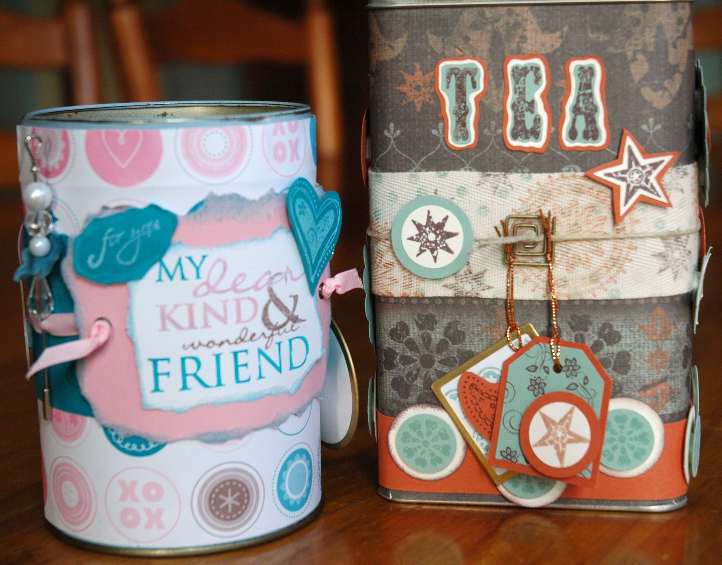 Decorate a Tin & get some blog candy!  EnchantINK