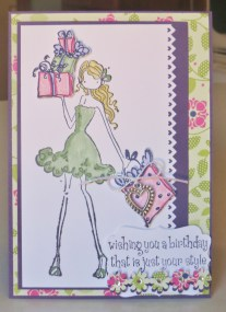 Sheree's Birthday Card Jan'14
