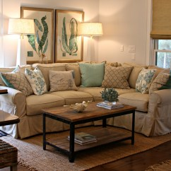 Beach House Sofa Slipcover Klik Klak Beds Watersound Cottage Interior Design By Andrea