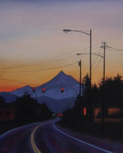 Mt. Hood from East Portland