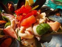 insalata di mare bagno la vela castiglion della pescaia