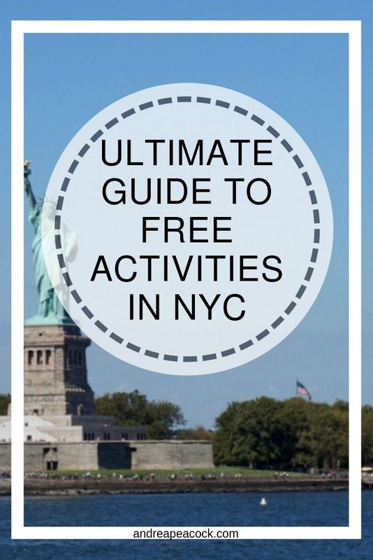 Ultimate Guide To Free Activities In New York City | www.andreapeacock.com