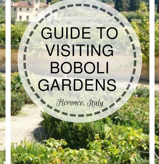 Guide to Visiting Boboli Gardens in Florence, Italy | www.andreapeacock.com
