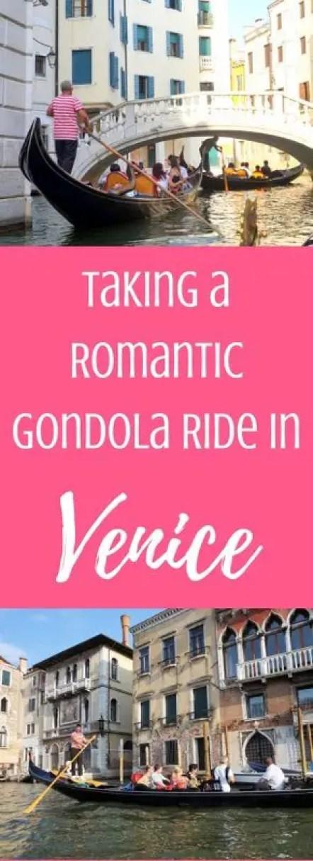 Taking a Romantic Gondola Ride in Venice, Italy | www.andreapeacock.com