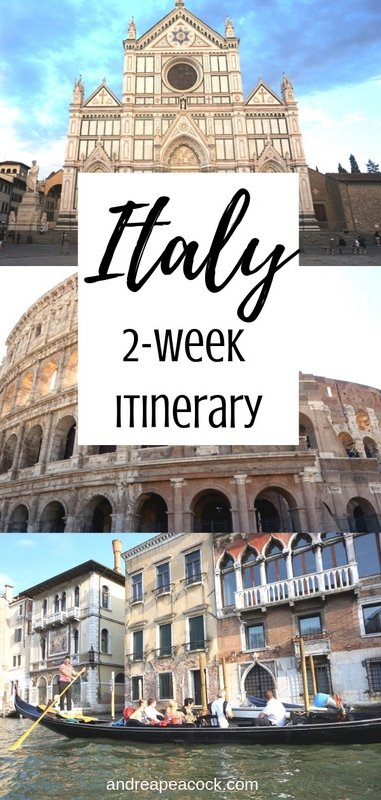 How to Spend 2 Weeks in Italy: Italy Travel Guide | www.andreapeacock.com