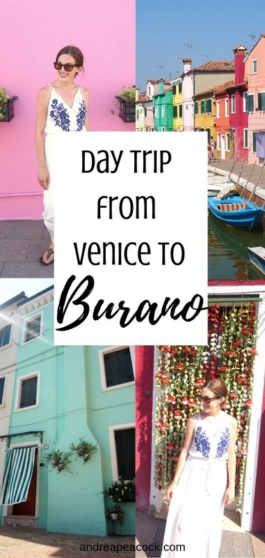 Taking a Day Trip from Venice to Burano, Italy | www.andreapeacock.com
