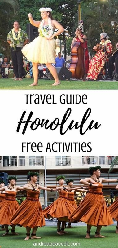 Honolulu Travel Guide filled with free hula shows and cultural activities
