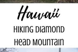 Hiking Diamond Head Mountain on Oahu, Hawaii