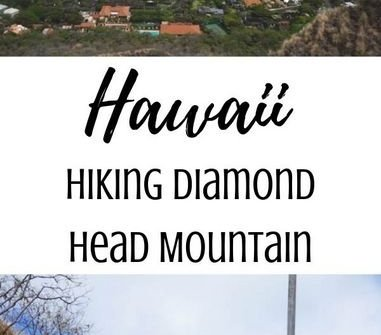 Hiking Diamond Head Mountain on Oahu, Hawaii