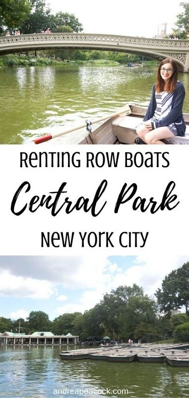 Renting Row Boats in Central Park, New York City | New York travel guide | Central Park travel guide #nyctravel #usatravel