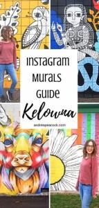 Kelowna Instagram Murals Guide | Kelowna's Most Instagram-Worthy Murals #kelowna #canadatravel #canadaphotography
