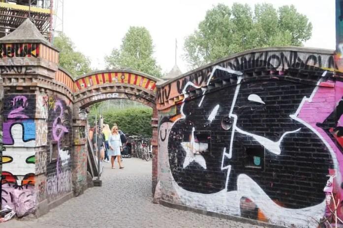 Freetown Christiania is an autonomous community within Copenhagen, Denmark.