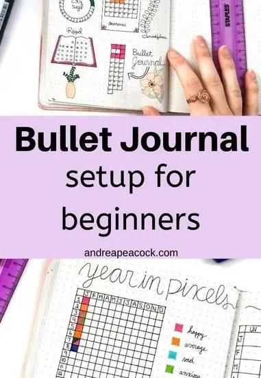 Bullet Journal Setup for Beginners | Andrea Peacock
