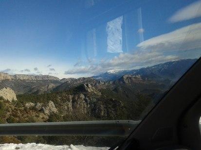 Salendo al Coll de Boixols, vista verso Andorra