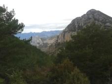 Nidola, cara sud del Roc de Galliner
