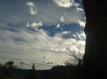 Amazing last light in Oliana