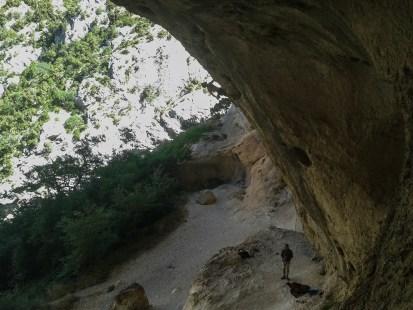 Pou l'Fion, 8b+ - Grotte du Galetas