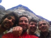 Il team al completo, Sbisi, Io, Carlo, ADM