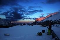 Alba spettacolare ai piani del Montasio - pic by Leocom