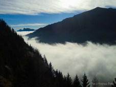 Il paradiso sopra le nebbie della pianura