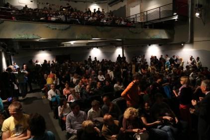 Il bellissimo pubblico del Miela - Foto di Elena Facco