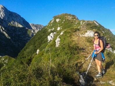 Sulla cresta del Monte Guarda