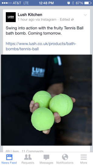 Tennis Ball Bath Bomb