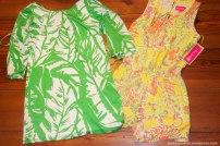Romper and Satin Dress