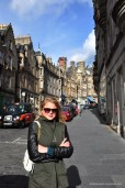 The streets of Edinburgh! Now I see where JK Rowling got inspiration for the world of Harry Potter.