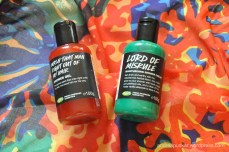 Lord of Misrule + Wash That Man Right Out of My Hair Shower Gels